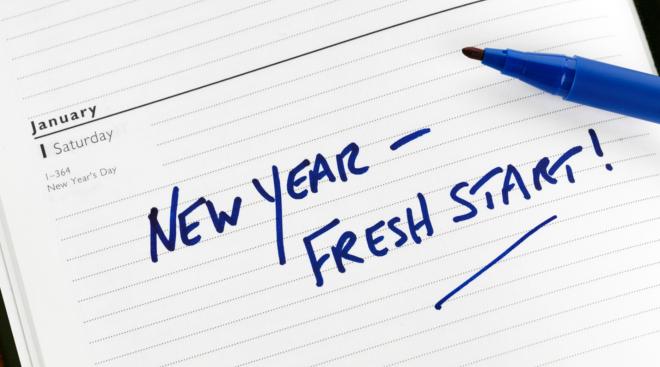 New Years, New Start